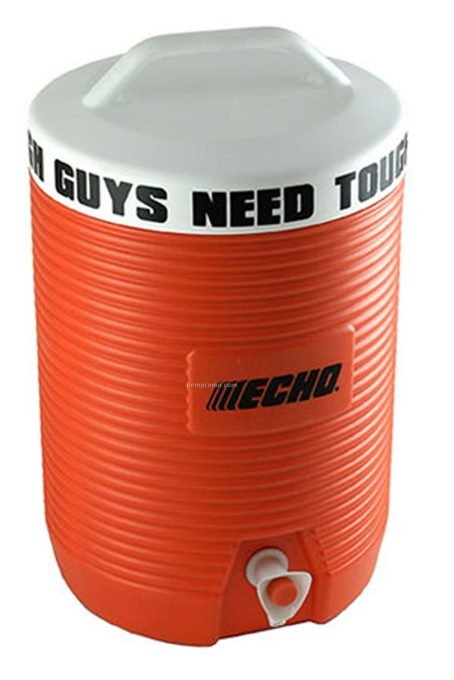 8.8 L. Orange Beverage Cooler And Dispenser