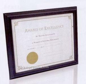 Black hardwood document framechina wholesale black for Cheap document frames