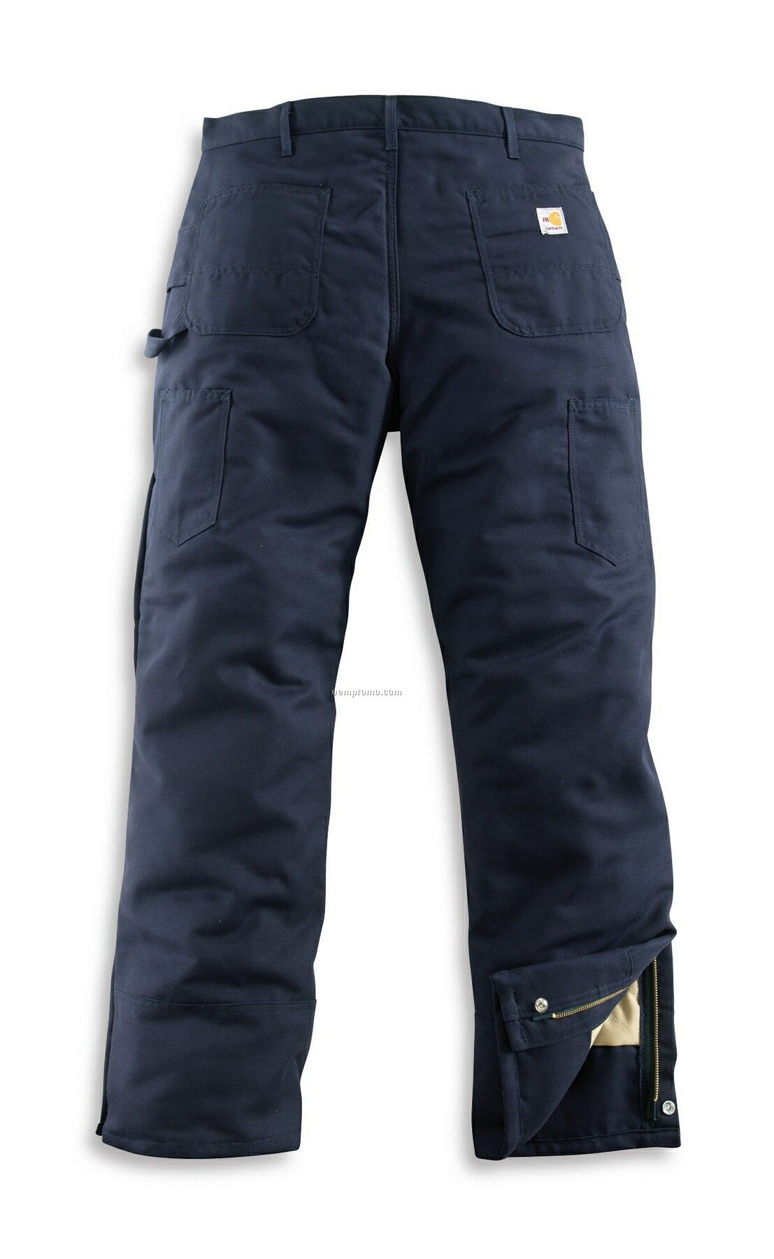 Carhartt Men's Flame Resistant Midweight Canvas Waist Overall/ Quilt Lined