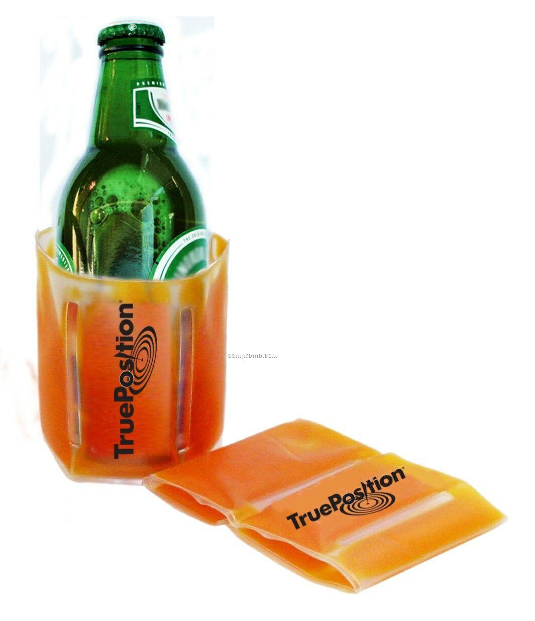 Custom Gel Filled Bottle Cooler