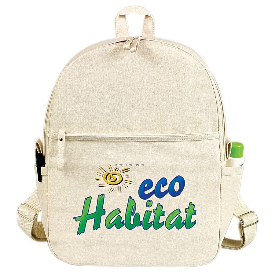 Egreen Canvas Backpack