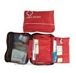 Mini Travel First Aid Kit W/ Case