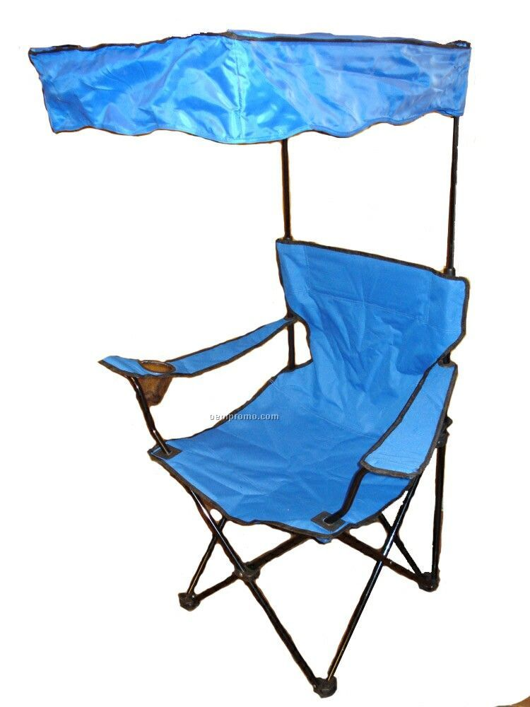 Shade Chair With Adjustable Canopy