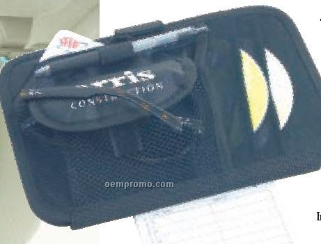 Xtnd-a-visor New Double Decker 2 CD Holder And Organizer
