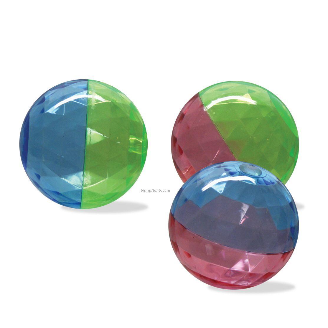 Split-color Diamond Air Bouncer Ball
