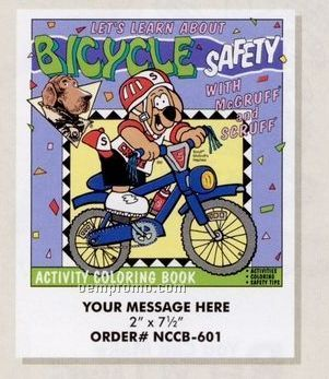 Stock Safety Theme - Bicycle Safety Coloring Book
