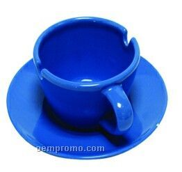 Cup & Saucer Ashtrays