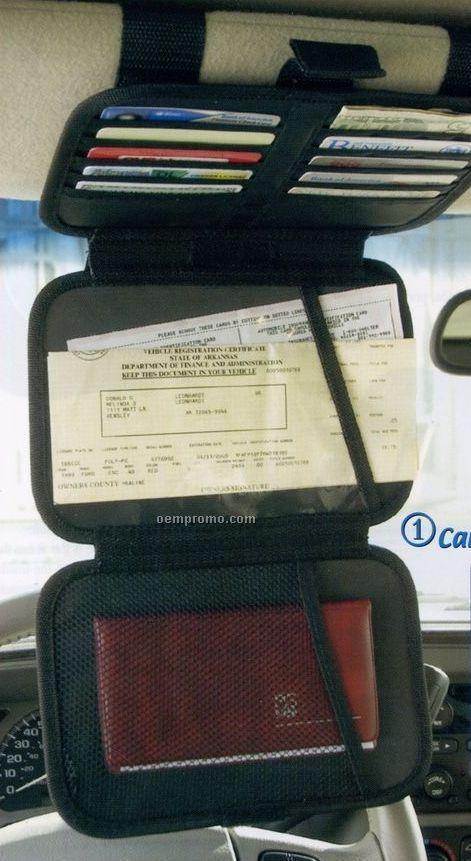 Xtnd-a-visor Auto Triple Decker 6 CD Holder And Organizer