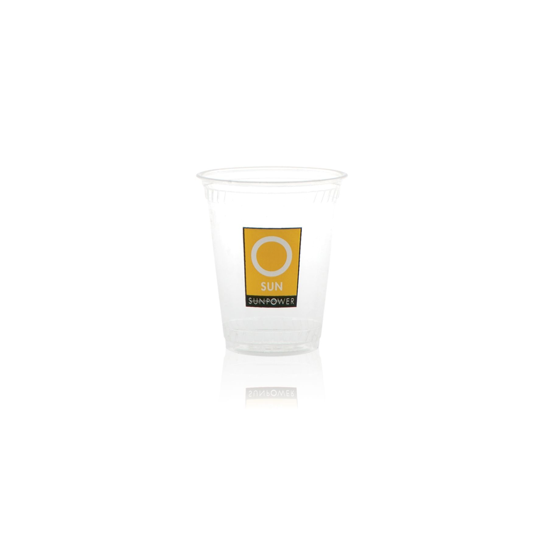 7 Oz. Clear Greenware Cold Cup