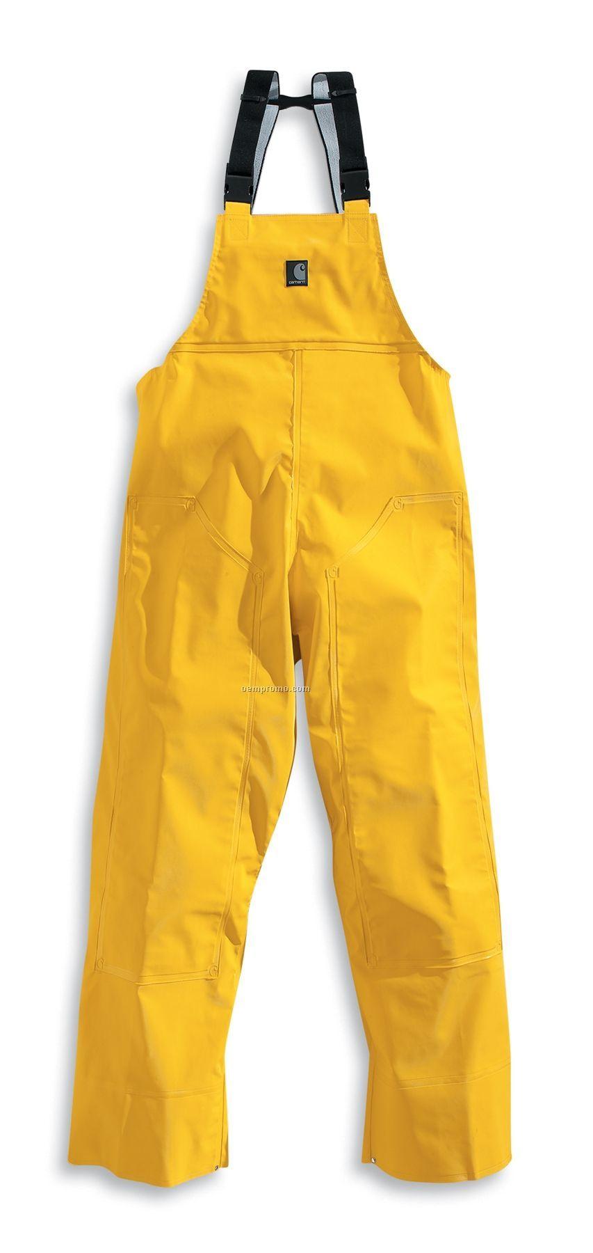 Carhartt Men's Pvc Rain Bib Overall (0.5 Mm)