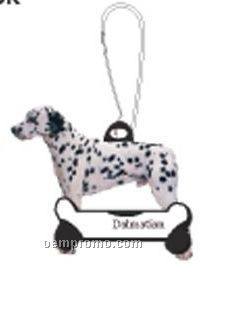 Dalmatian Dog Zipper Pull
