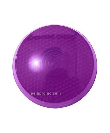 Purple Round Light Up Reflector W/ Red LED