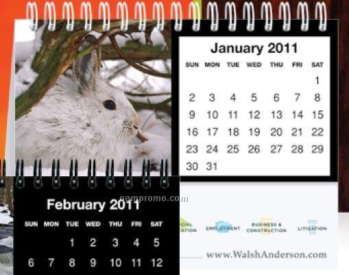 Tent Desk Calendars - Fauna
