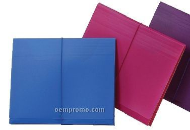 "Assorted Pack Letter Size Neon Pocket File With 1"" Expansion"