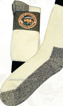 Heavyweight Natural Beige Thermal Boot Socks
