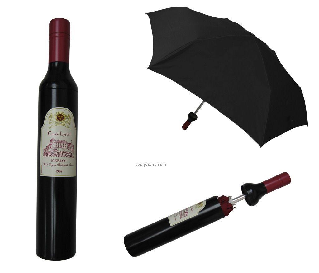 Wine bottle umbrella china wholesale wine bottle umbrella - Parasol prix discount ...