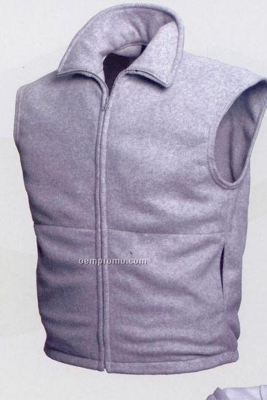 Full Zip Polar Fleece Vest