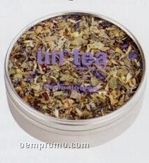 Organic Tea In Window Metal Tin - 1/2 Oz. (2 1/2
