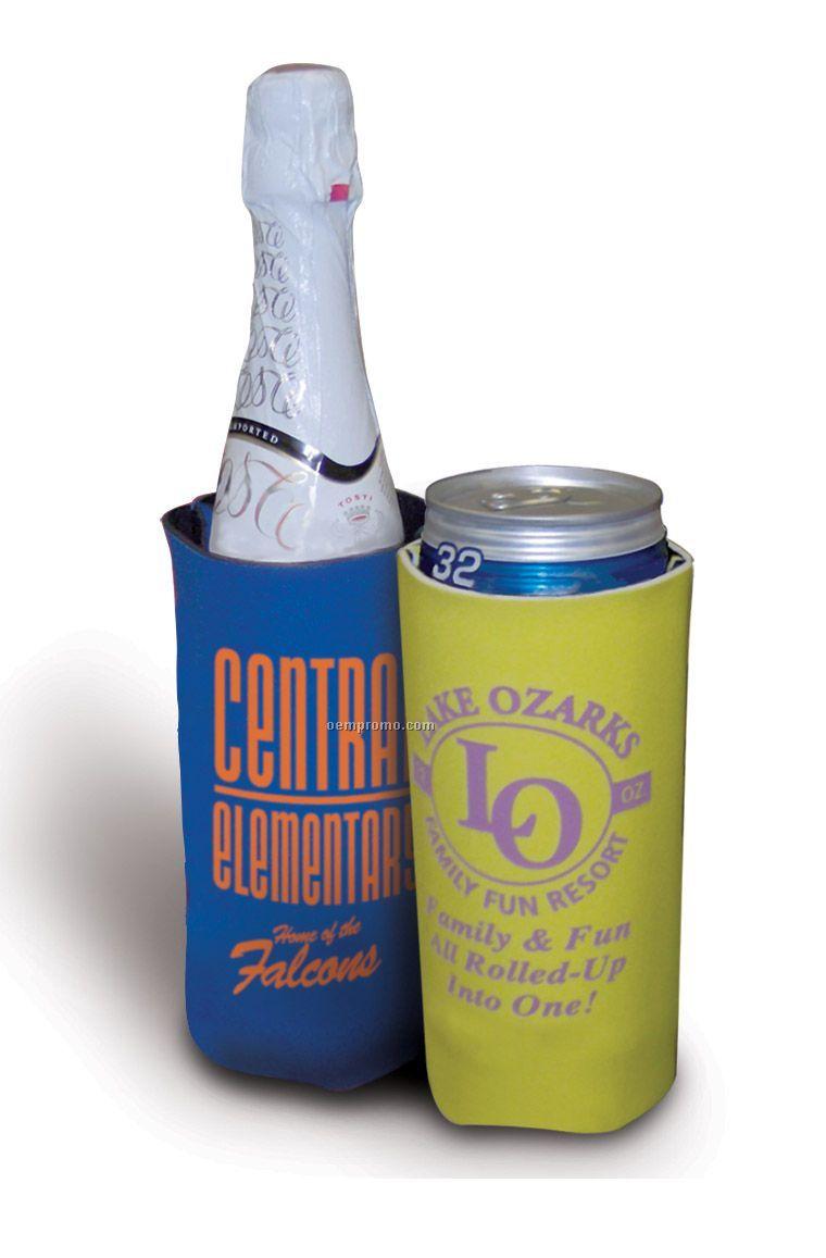 Jumbo 32 Oz. Hold-all Beverage Hugger W/Swivel Clip