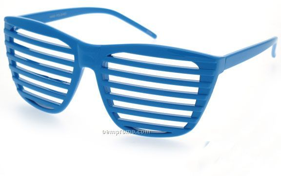 Shutter Shades Party Glasses