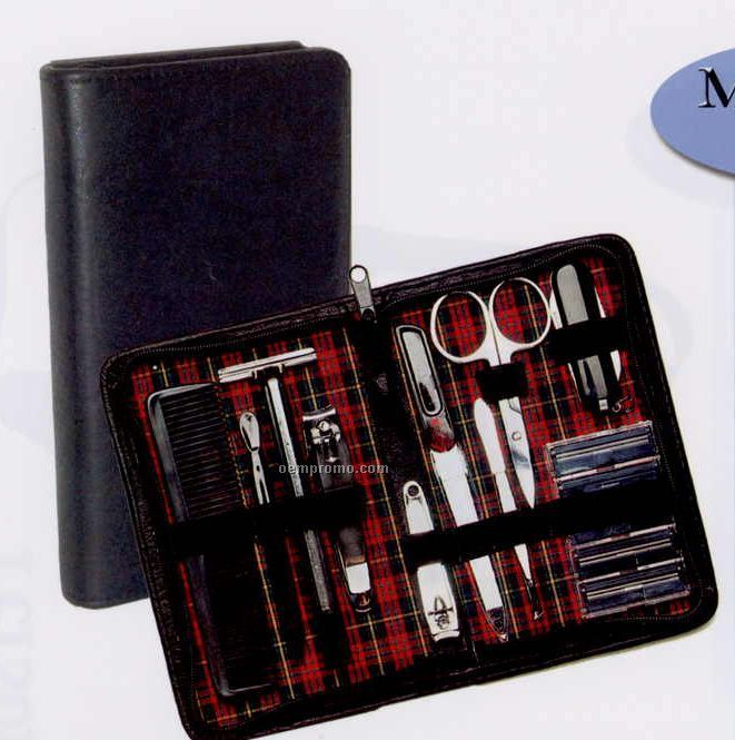 Simulated Leather Manicure Set 6 Quot X4 Quot X3 4 Quot China