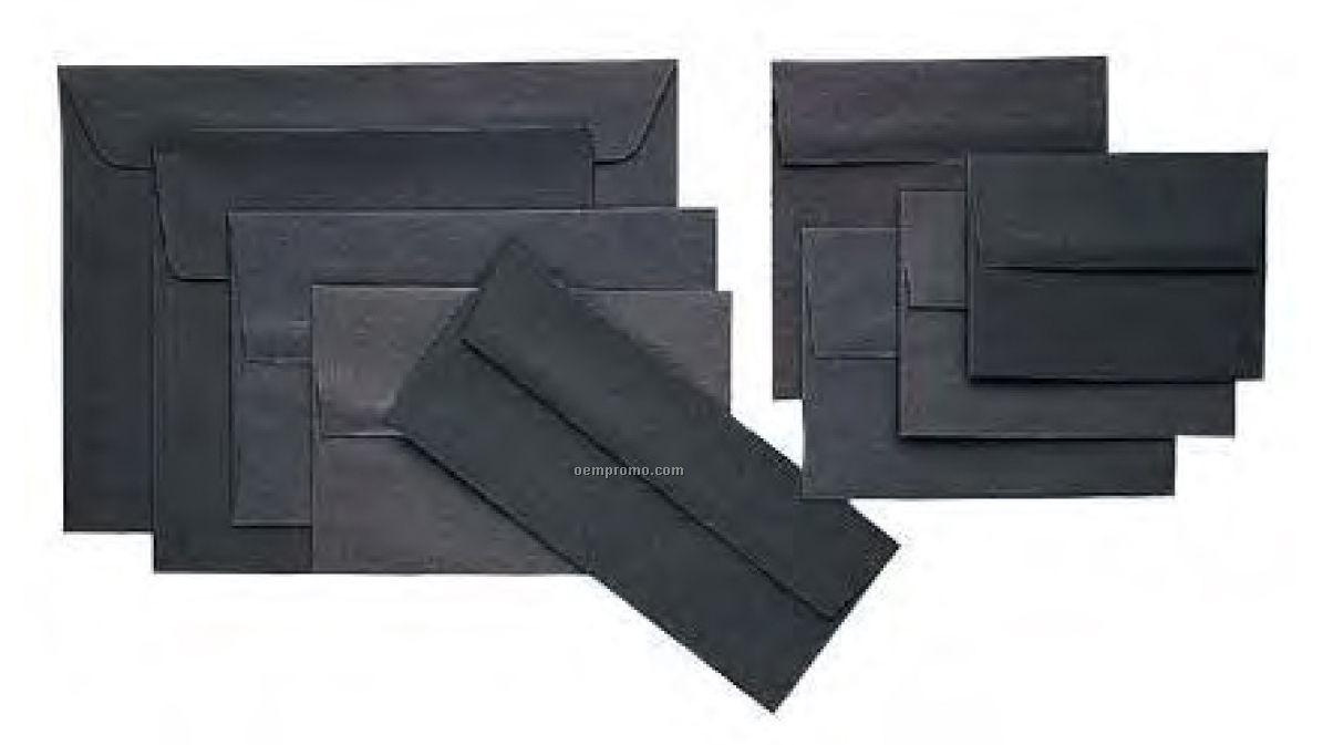 Black Linen Envelopes