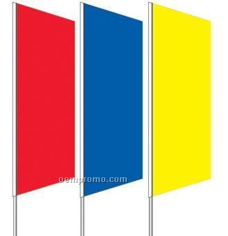 2 1/2'x8' Stock Zephyr Banner Drapes - Mint Green