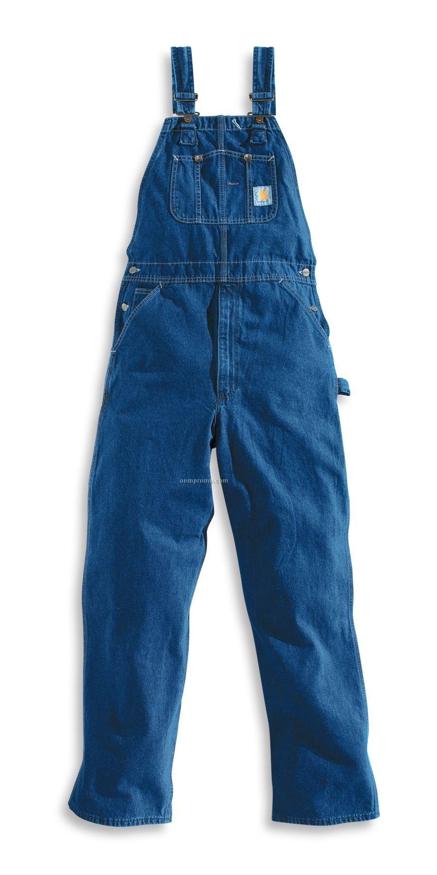 Carhartt Men's Washed Denim Bib Overall/ Unlined