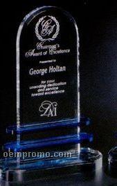 """Indigo Gallery Crystal Pearl Lake Award (10"""")"""