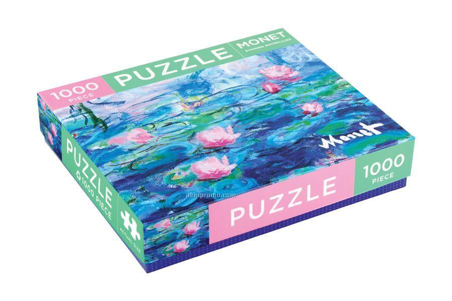Monet Evening Waterlilies Puzzle
