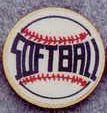 "Round Deal 1"" Insert Softball - Medallions Stock Kromafusion"