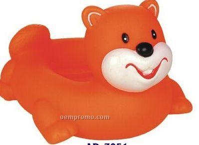 Rubber Beaver Soap Dish