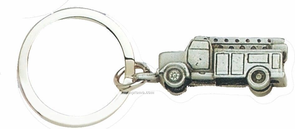 Cast Vehicle Key Tag - Utility Truck