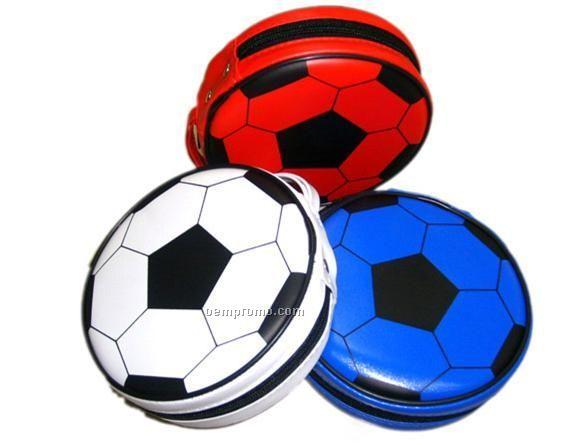 Soccer Ball Motif CD Case