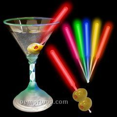 Yellow Glow Cocktail Pick