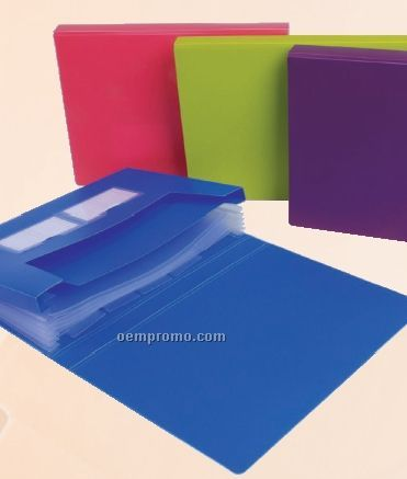 Assorted Pack Neon Expanding Campus File