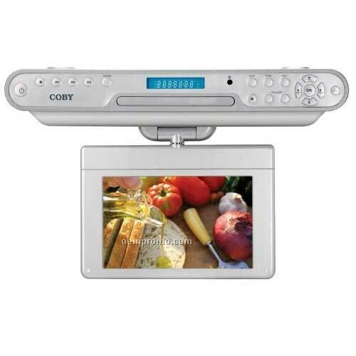 "7"" Tft Under The Kitchen Counter DVD Player With Digital Atsc Tv Tuner"