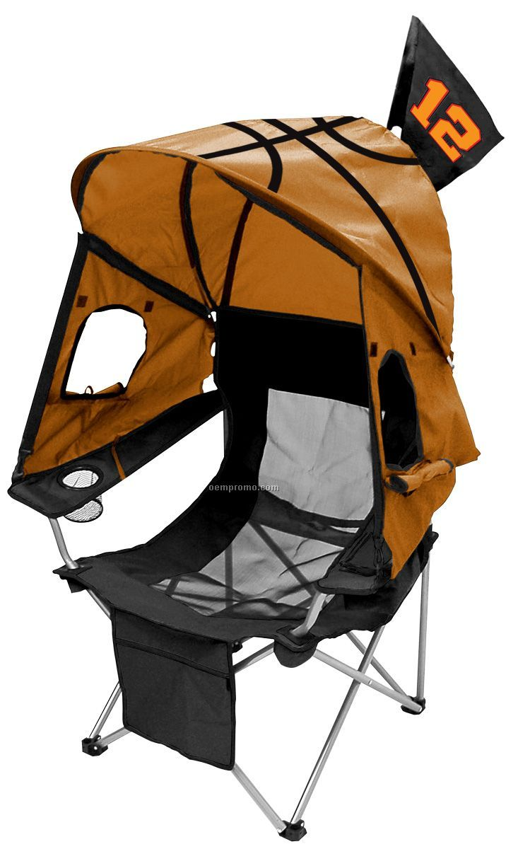Tent Chair - Basketball  sc 1 st  Oempromo.com : soccer chair with canopy - memphite.com