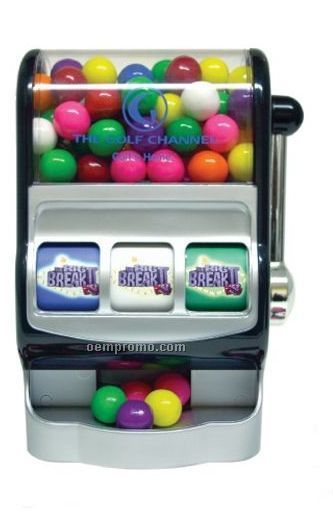 Custom Jackpot Candy Machine W/ Gumballs