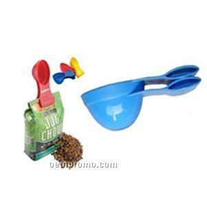 Pet Cup Scoop With Clip