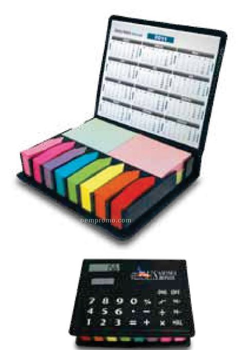 Calculator Flag Note Box