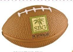 Football Style Foam Stress Ball (Economy)