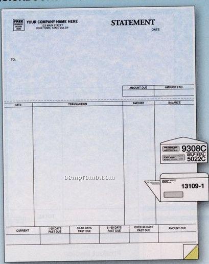 Parchment Laser Statement W/ Perforation (1 Part)