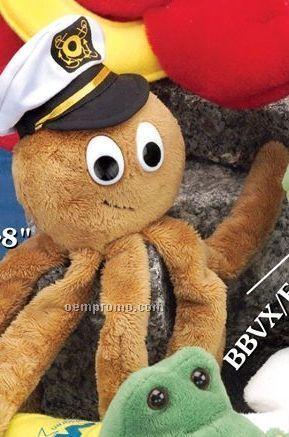 """8"""" Aquatic Beanie Octopus"""