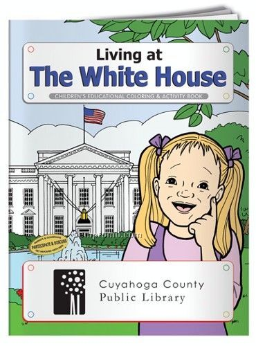Fun Pack Coloring Book W/ Crayons - Living At The White House