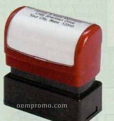 Pre-inked Compact Name & Address Stamp