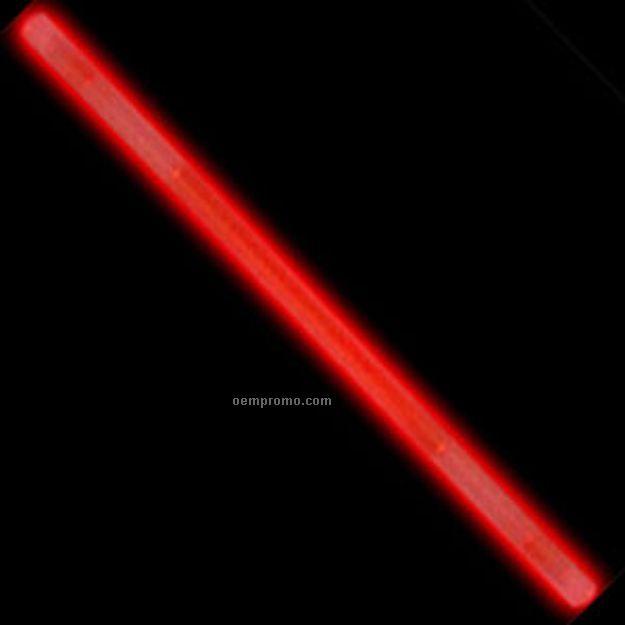 Red Glow Cocktail Stir Stick