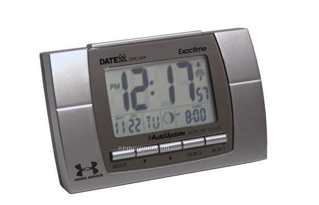 Datexx Radio Controled Lcd Clock