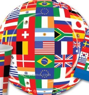 International Flag Plates