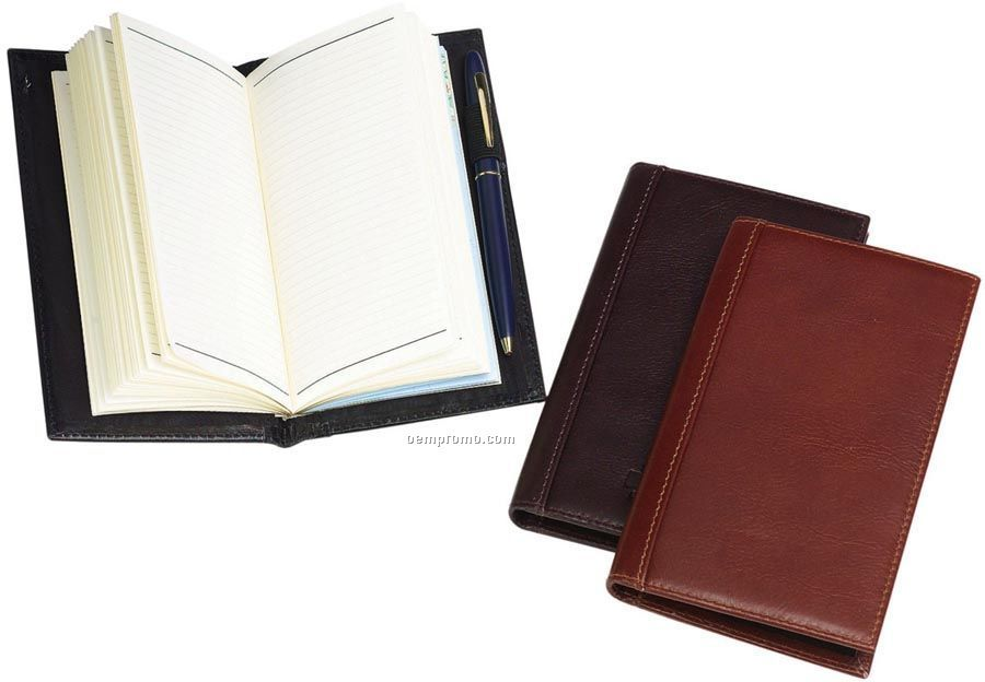 Jr. Journal With Leather Cover